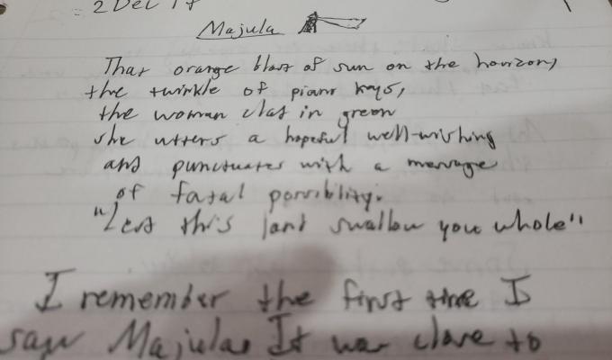 Majula | FieldWriting